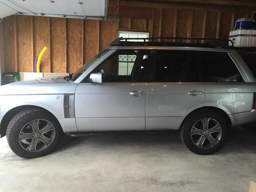 2006 range rover supercharged outback garage for Garage land rover brest