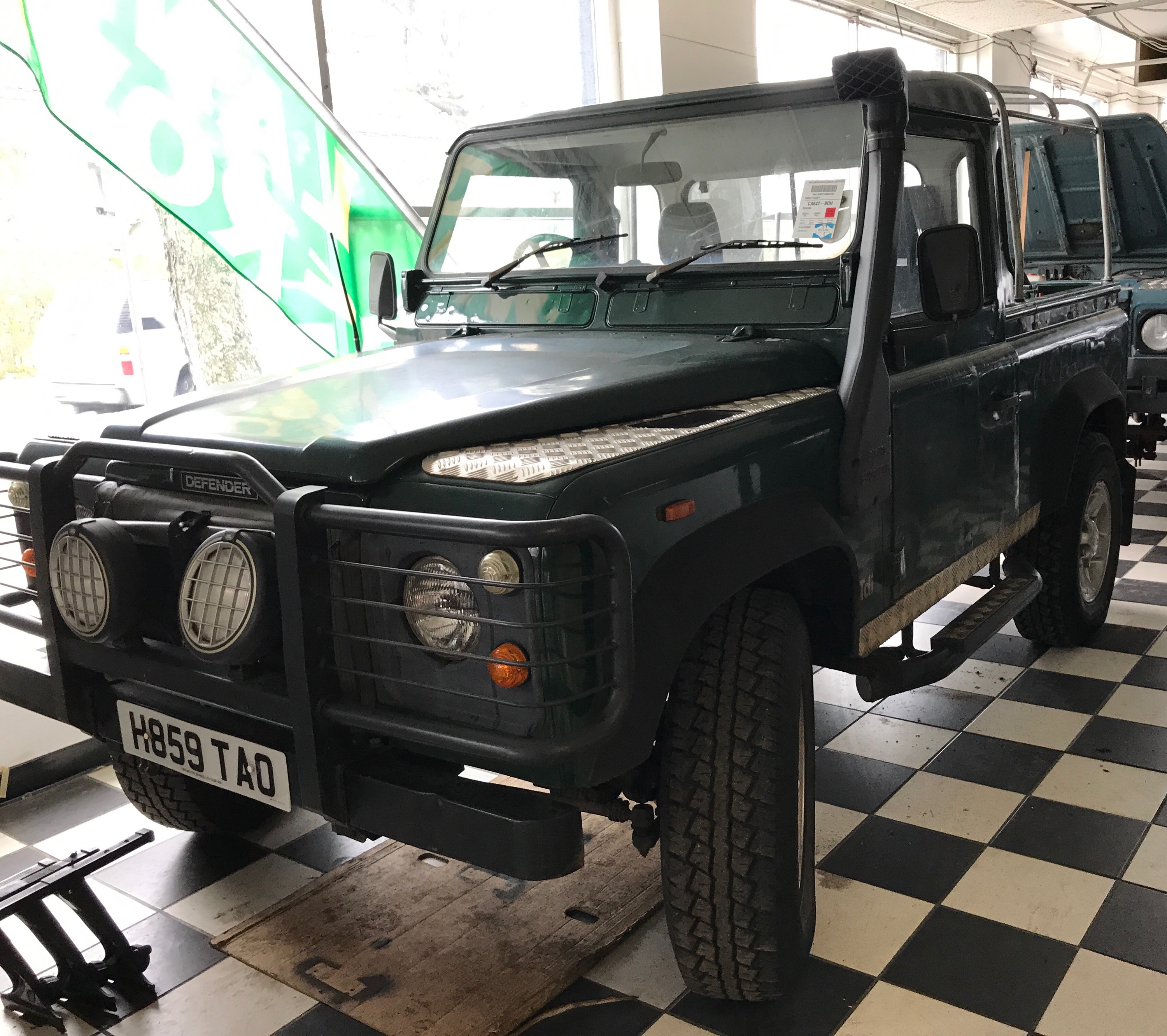 1991 Land Rover Defender 90 Pickup